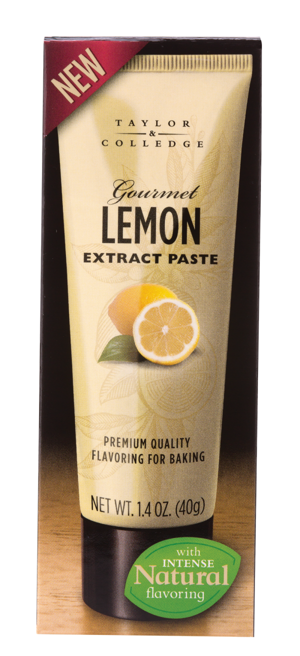 Gourmet Lemon Extract Paste - Taylor and Colledge