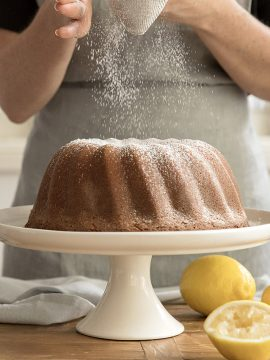 Lemon Cream Pound Cake - Vanilla recipes - Taylor and Colledge