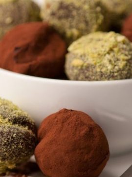 Dark Peppermint Truffles - Vanilla recipes - Taylor and Colledge
