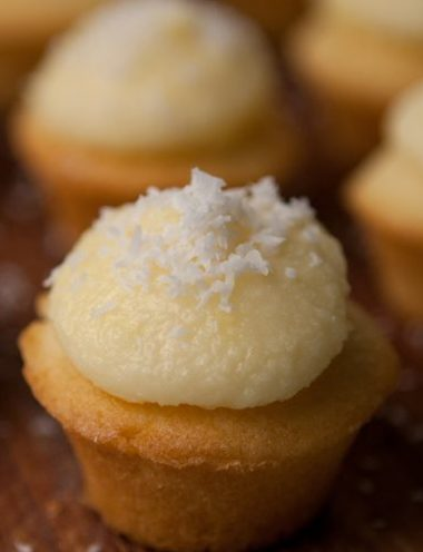 Coconut Cuppies (Cupcakes) - Vanilla recipes - Taylor and Colledge