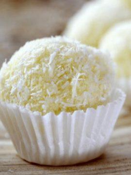 Coconut Truffles - Vanilla recipes - Taylor and Colledge