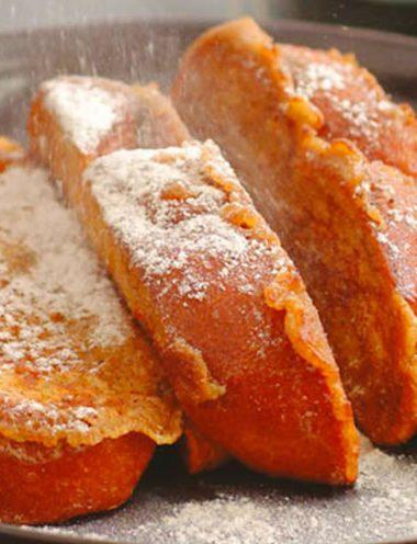 Vanilla French Toast with Orange - Vanilla Recipes