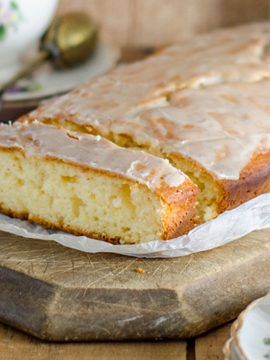 Glazed Lavender Tea Cake - Vanilla recipes - Taylor and Colledge