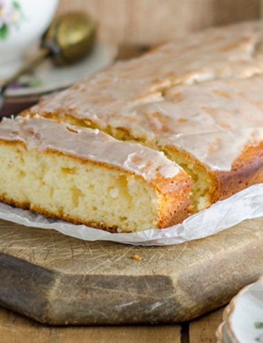Glazed Lavender Tea Cake - Vanilla recipes - Taylor and Colledge