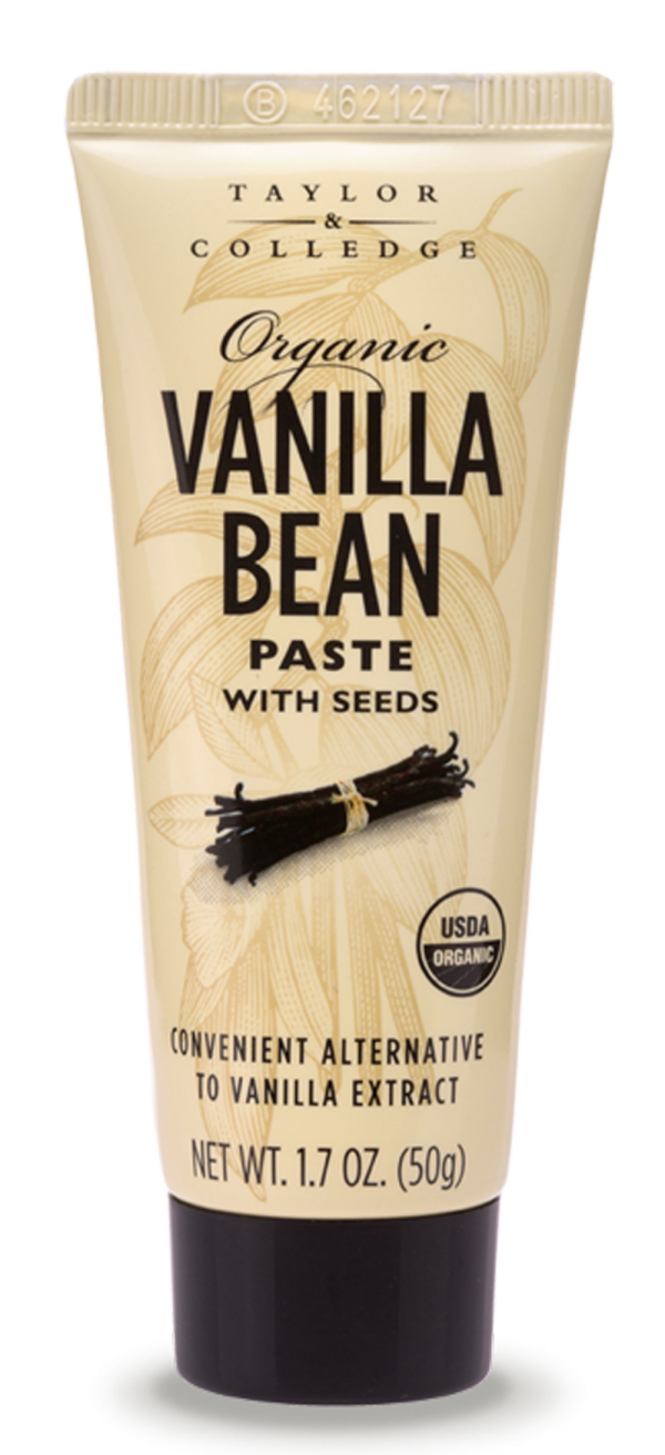 Organic Vanilla Bean Paste with Seeds - Taylor and Colledge