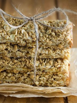 Oatmeal Lemon Cream Bars - Vanilla recipes - Taylor and Colledge