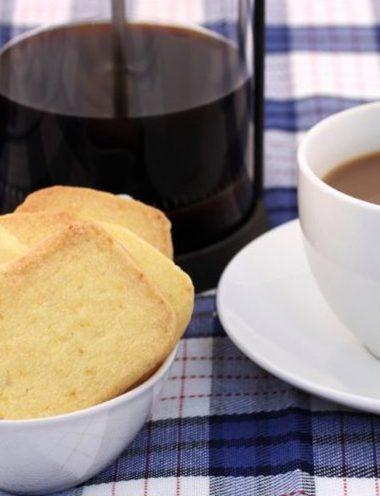 Almond Orange Shortbread - Vanilla recipes - Taylor and Colledge