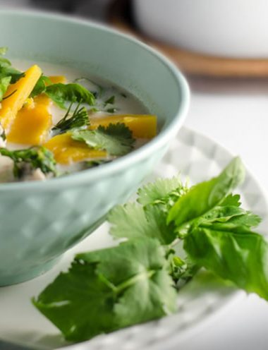Thai Chicken & Pumpkin Soup - Vanilla recipes - Taylor and Colledge