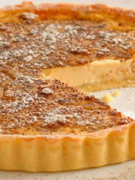 Vanilla Custard Tart - Vanilla recipes - Taylor and Colledge